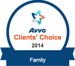 Avvo Client's Choice Award 2014 for Family