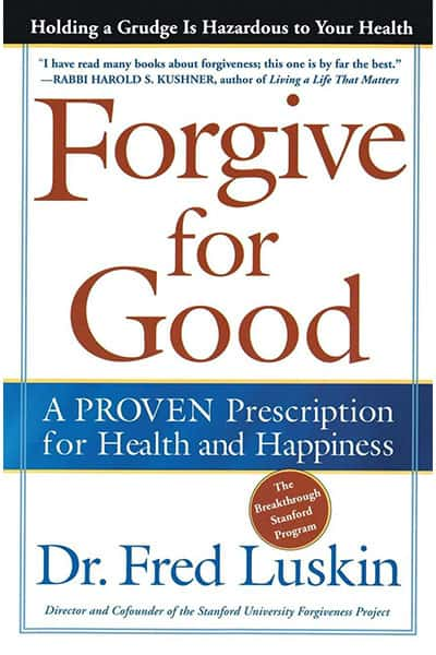Forgive For Good Book Cover