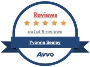 Avvo 5 Star Client Rating